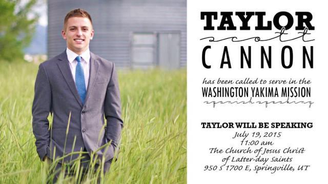 Cannon, Taylor Farewell