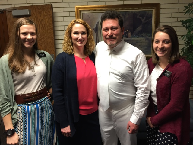 2016-2-22 Departing group, baptism, Miner's (18)