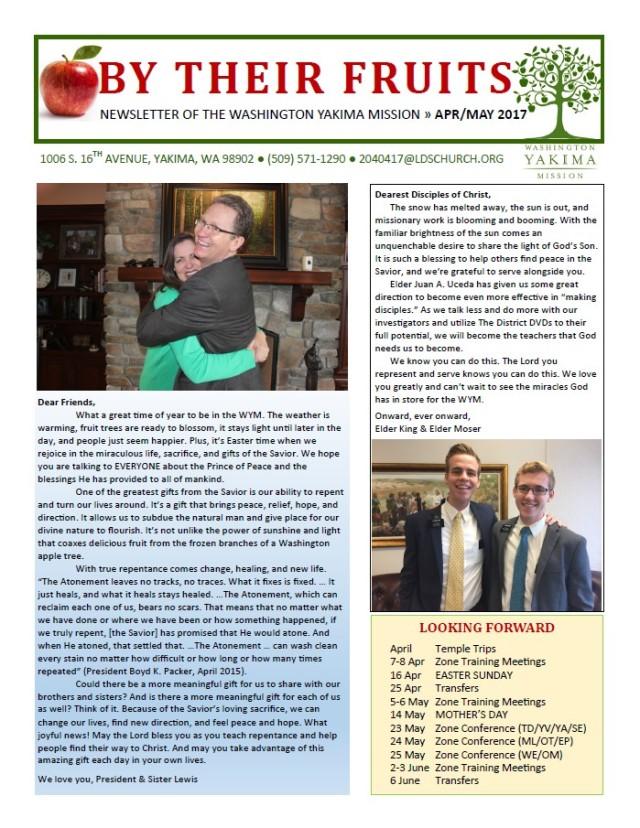 2017-4-3 Newsletter 1
