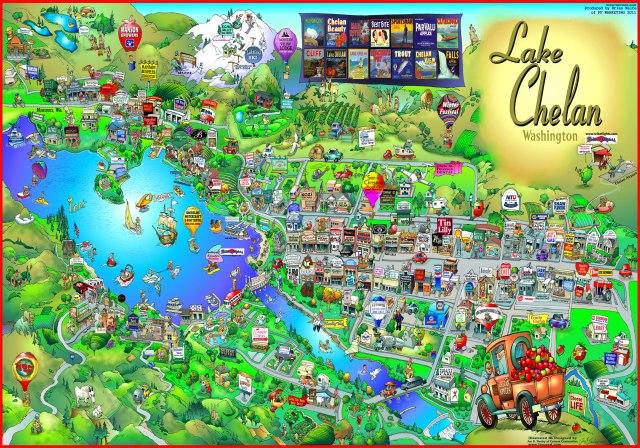 Chelan map