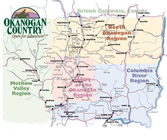 Map Okanogan