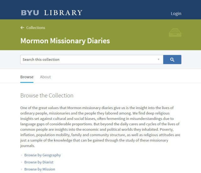 2017-6-2 Early Mormon Missionaries 2