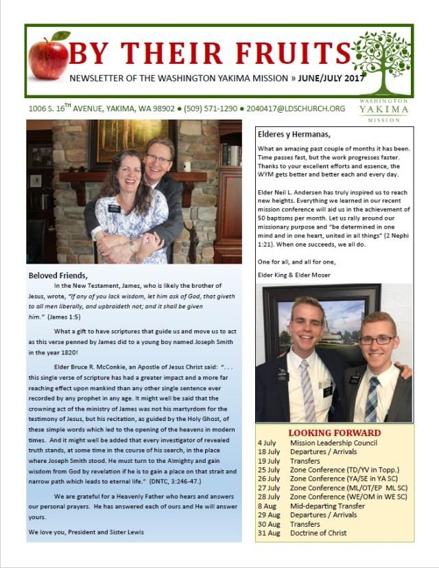 2017-6-26 Newsletter 1