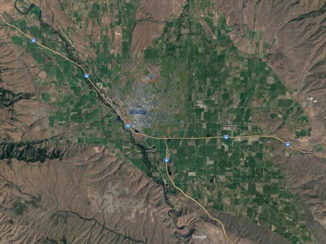 Ellensburg Map
