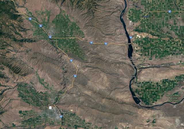 Map Ellensburg