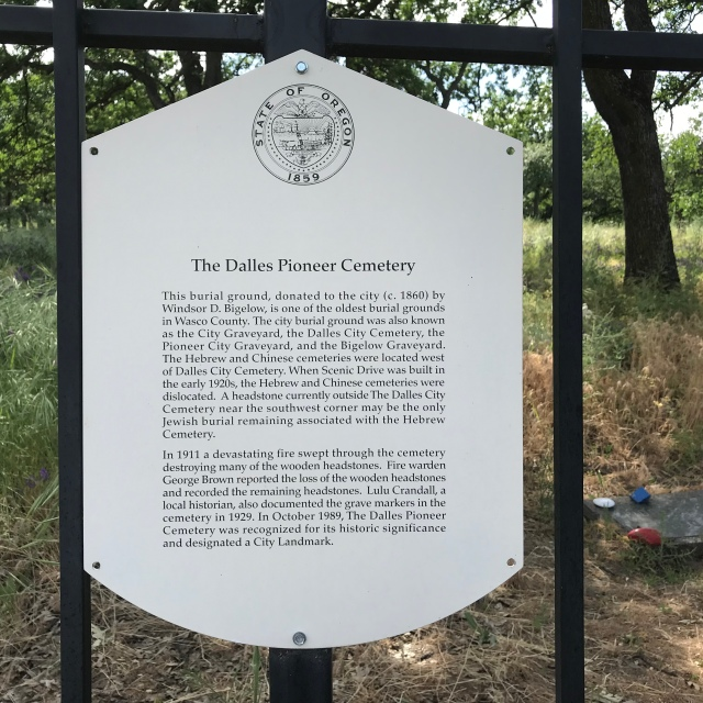2018-5-20 Dalles z Pioneer Cemetery (2)