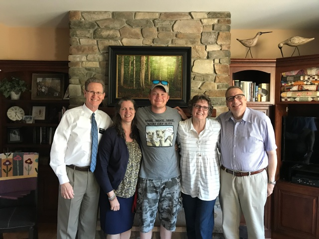 2018-6-14 Visit from Painter Family (5)